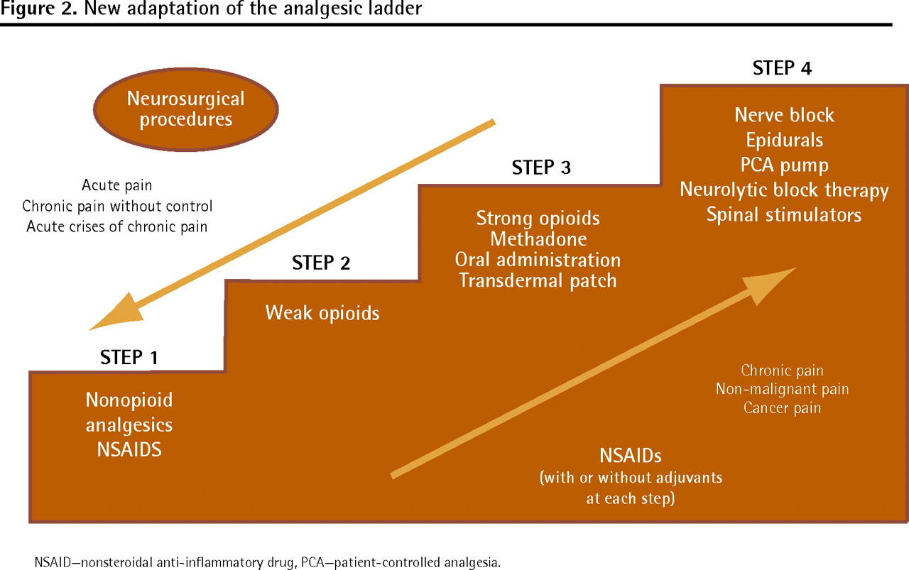Is the WHO analgesic ladder still valid? | The College of Family Physicians  of Canada