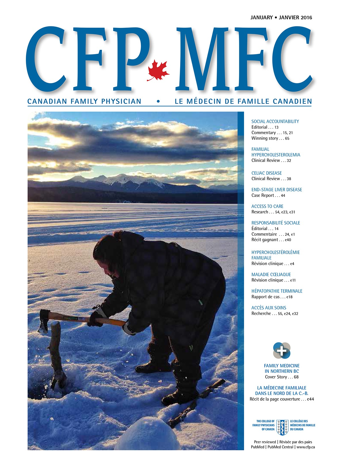 Arctic data streams | The College of Family Physicians of Canada