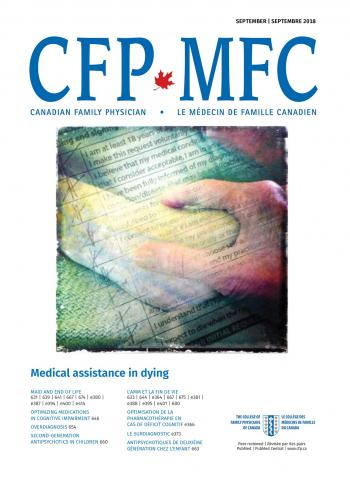 Canadian Family Physician: 64 (9)