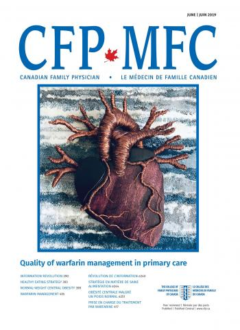 Canadian Family Physician: 65 (6)