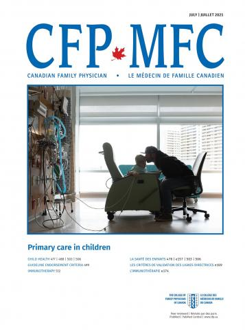 Canadian Family Physician: 67 (7)