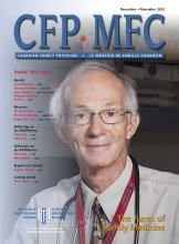 Canadian Family Physician: 58 (11)