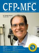 Canadian Family Physician: 60 (2)