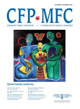 Canadian Family Physician: 64 (11)