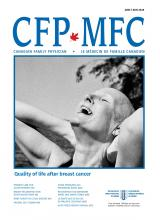 Canadian Family Physician: 64 (6)